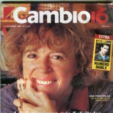 Collectionnisme de Magazine Época: CAMBIO 16 Nº 1199 - ENTREVISTA EL VAQUILLA Y SU MUJER - MICKEY MOUSE 66 AÑOS - LAS SETAS - NOV 1994. Lote 172475909
