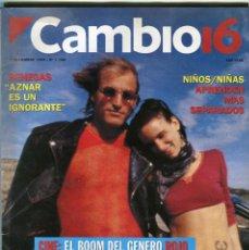 Collectionnisme de Magazine Época: CAMBIO 16 Nº 1198 - EMMA SUAREZ - JESUS GIL -JAVIER MADRAZO 20 PREGUNTAS - EL CINE ROJO - NOV. 1994. Lote 172476025