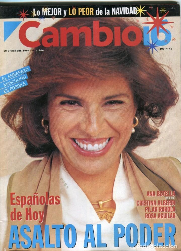 CAMBIO 16 Nº 1204 -MUÑECA BARBIE TOP MODEL (2 PAG 9 FOTOS)(VER) - A. BOTELLA/PILAR RAHOLA.-.DIC 1994 (Coleccionismo - Revistas y Periódicos Modernos (a partir de 1.940) - Revista Época)