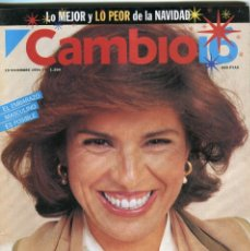 Coleccionismo de Revista Época: CAMBIO 16 Nº 1204 -MUÑECA BARBIE TOP MODEL (2 PAG 9 FOTOS)(VER) - A. BOTELLA/PILAR RAHOLA.-.DIC 1994. Lote 172477269