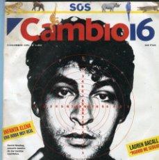 Coleccionismo de Revista Época: CAMBIO 16 Nº 202-MANUEL VAZQUEZ MONTALBAN ENTREVISTA - CINDY CRAWFORD ROTURA CON R.GERE - DIC. 1994. Lote 172477642