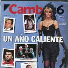 Coleccionismo de Revista Época: CAMBIO 16 Nº 1206 - CLAUDIA SCIFFER - NAOMI CAMBELL - 94 UN AÑO CALIENTE EN IMAGENES - ENERO 1995. Lote 172477754