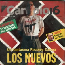Coleccionismo de Revista Época: CAMBIO 16 Nº 1214 - ANTONIO BANDERAS - LOS NUEVOS FASCISTAS INESTRILLAS/HAIDER/FINI..- FEBRERO1995. Lote 172477890