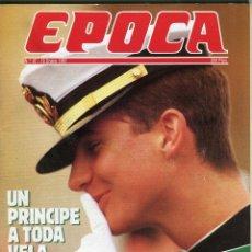 Coleccionismo de Revista Época: EPOCA Nº 97 - PRINCIPE DE ASTURIAS - CASA DE LA MONEDA ROBO - BUERO VALLEJO ENTREVISTA - ENERO 1987. Lote 173195524