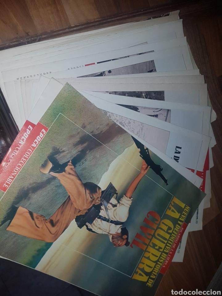 NUEVA Y DEFINITIVA HISTORIA DE LA GUERRA CIVIL COLECCIONABLE ÉPOCA CON 20 COLECCIONABLES REVISTAS (Coleccionismo - Revistas y Periódicos Modernos (a partir de 1.940) - Revista Época)
