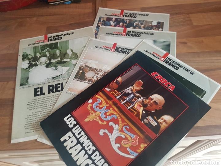 LOS ÚLTIMOS DÍAS DE FRANCO FASCÍCULOS 4 5 6 7 Y 8 ÉPOCA (Coleccionismo - Revistas y Periódicos Modernos (a partir de 1.940) - Revista Época)