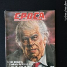 Coleccionismo de Revista Época: REVISTA ÉPOCA NÚM 539 DE 1995 FELIPE GONZÁLEZ. Lote 179951582