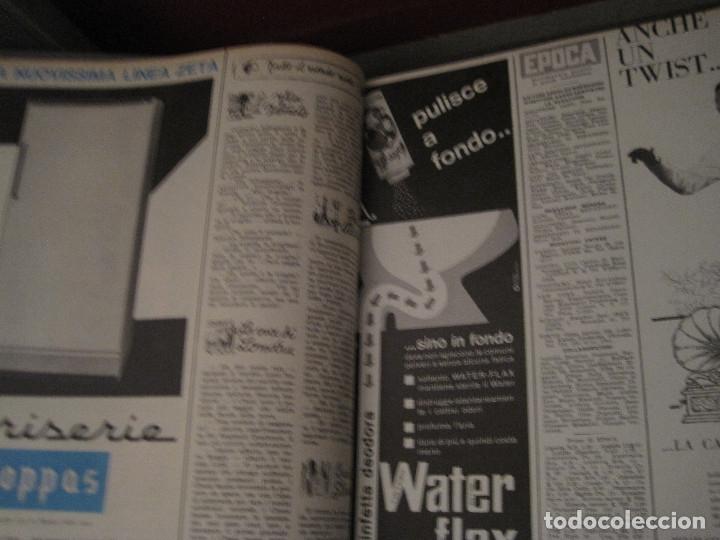Coleccionismo de Revista Época: Epoca (revista italiana 27 números año 1962 en 2 volúmenes) - Foto 3 - 180894688
