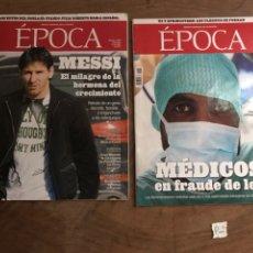 Coleccionismo de Revista Época: LOTE ÉPOCA. Lote 182104447