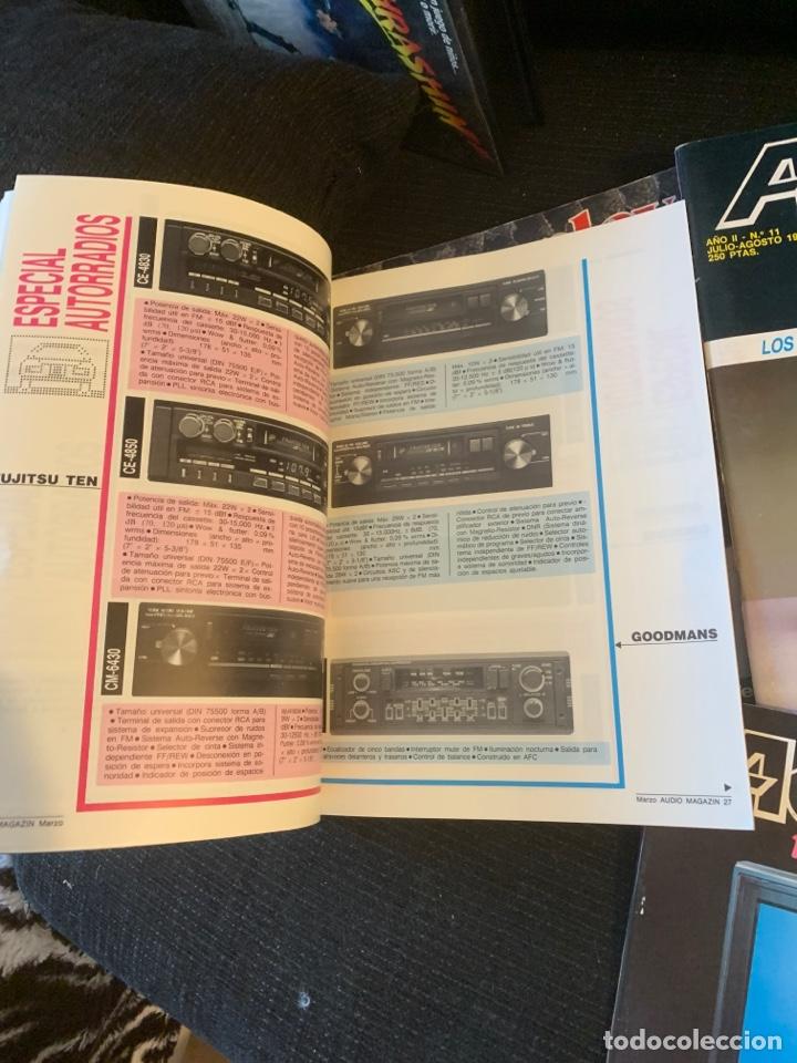 Coleccionismo de Revista Época: Radio Audio revista Audio magazin lote 4 revistas. Tipo stereofonia audio sonido - Foto 3 - 184849142