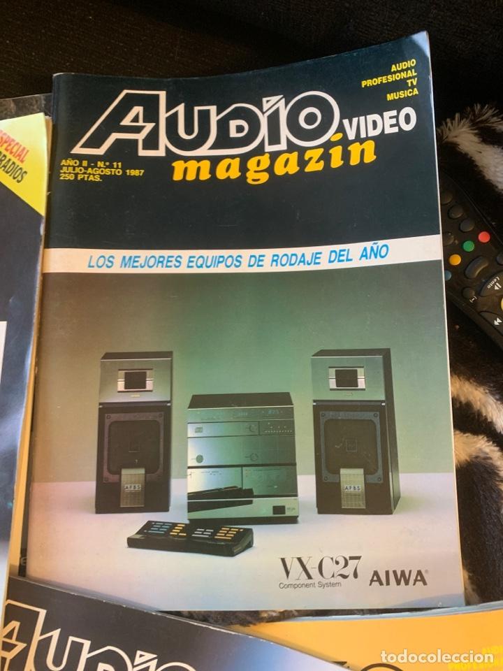 RADIO AUDIO REVISTA AUDIO MAGAZIN LOTE 4 REVISTAS. TIPO STEREOFONIA AUDIO SONIDO (Coleccionismo - Revistas y Periódicos Modernos (a partir de 1.940) - Revista Época)