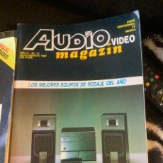 Coleccionismo de Revista Época: RADIO AUDIO REVISTA AUDIO MAGAZIN LOTE 4 REVISTAS. TIPO STEREOFONIA AUDIO SONIDO. Lote 184849142