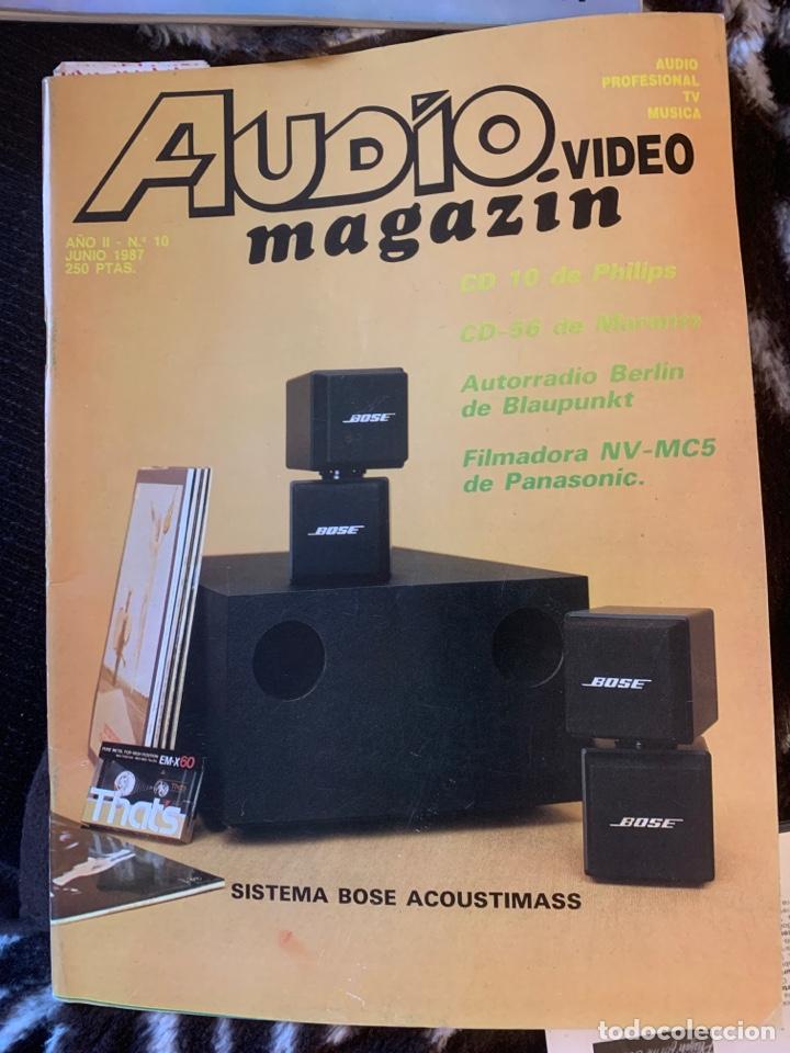 Coleccionismo de Revista Época: Radio Audio revista Audio magazin lote 4 revistas. Tipo stereofonia audio sonido - Foto 4 - 184849142