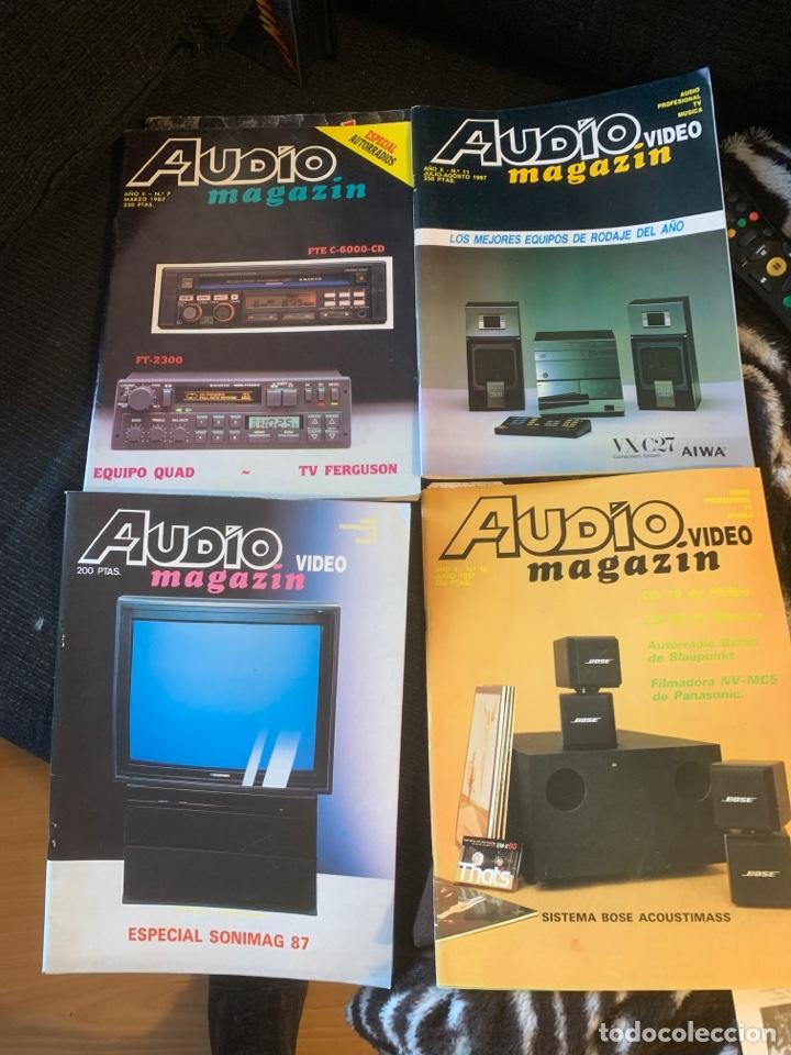 Coleccionismo de Revista Época: Radio Audio revista Audio magazin lote 4 revistas. Tipo stereofonia audio sonido - Foto 2 - 184849142