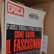 Coleccionismo de Revista Época: 461 REVISTAS ITALIANAS ÉPOCA. Lote 190582963
