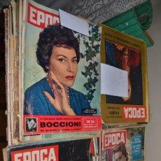 Coleccionismo de Revista Época: 461 REVISTAS ITALIANAS ÉPOCA. Lote 190583515