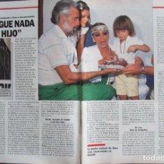 Collectionnisme de Magazine Época: RECORTE REVISTA ÉPOCA Nº 193 1988 SARA MONTIEL. Lote 192329335