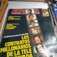 Coleccionismo de Revista Época: REVISTA ÉPOCA 235 11-9-89. Lote 197936041