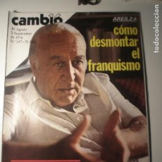 Coleccionismo de Revista Época: CAMBIO 16 Nº 247 30/08/76. Lote 199396290