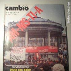 Coleccionismo de Revista Época: CAMBIO 16 Nº 241 19/07/76. Lote 199396298