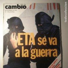 Coleccionismo de Revista Época: CAMBIO 16 Nº 254 18/10/76. Lote 199396305