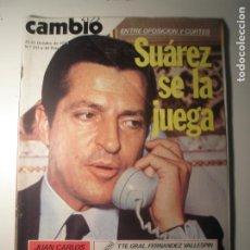 Coleccionismo de Revista Época: CAMBIO 16 Nº 255 25/10/76. Lote 199396307