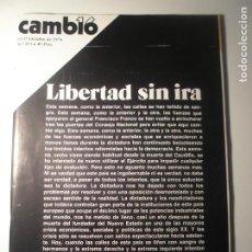 Coleccionismo de Revista Época: CAMBIO 16 Nº 253 11/10/76. Lote 199396308