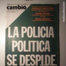 Coleccionismo de Revista Época: CAMBIO 16 Nº 257 08/11/76. Lote 199396312
