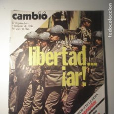 Coleccionismo de Revista Época: CAMBIO 16 Nº 251 27/09/76. Lote 199396313