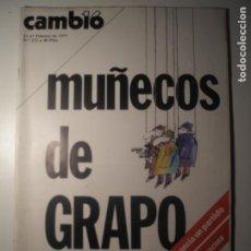 Coleccionismo de Revista Época: CAMBIO 16 Nº 272 21/02/77. Lote 199396315