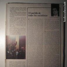 Coleccionismo de Revista Época: CAMBIO 16 Nº 262 19/12/76 LE FALTA PORTADA Y CONTRAPORTADA. Lote 199396318