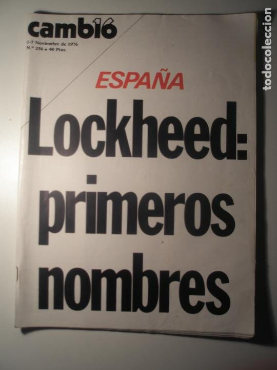 CAMBIO 16 Nº 256 01/11/76 (Coleccionismo - Revistas y Periódicos Modernos (a partir de 1.940) - Revista Época)
