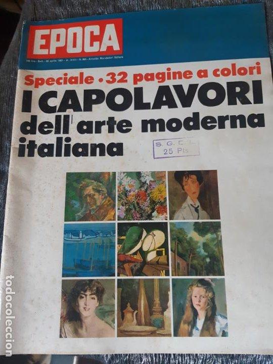 REVISTA EPOCA, EL ARTE EN ITALIA, EN ITALIANO (Coleccionismo - Revistas y Periódicos Modernos (a partir de 1.940) - Revista Época)