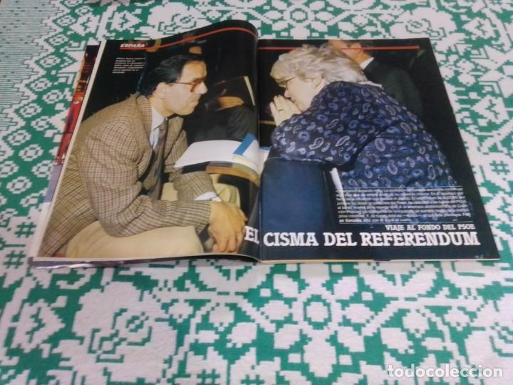 Coleccionismo de Revista Época: Revista Época núm. 50. Año 1986. Felipe González - Guerra Civil - Pasqual Maragall - Fernando Arraba - Foto 3 - 201725045