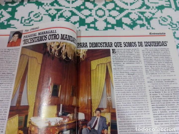 Coleccionismo de Revista Época: Revista Época núm. 50. Año 1986. Felipe González - Guerra Civil - Pasqual Maragall - Fernando Arraba - Foto 4 - 201725045
