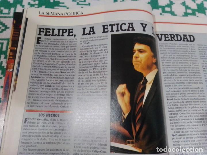 Coleccionismo de Revista Época: Revista Época núm. 50. Año 1986. Felipe González - Guerra Civil - Pasqual Maragall - Fernando Arraba - Foto 5 - 201725045