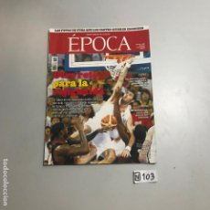 Coleccionismo de Revista Época: REVISTA EPOCA. Lote 208407147