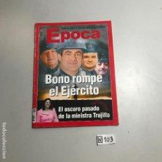Coleccionismo de Revista Época: REVISTA EPOCA. Lote 208407171