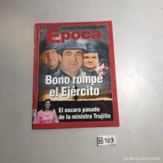 Coleccionismo de Revista Época: REVISTA ÉPOCA. Lote 209177685