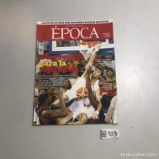 Coleccionismo de Revista Época: REVISTA ÉPOCA. Lote 209178040