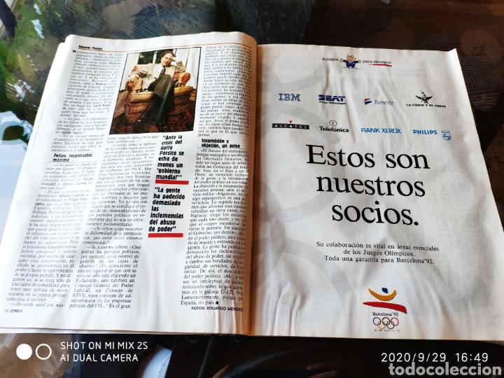 Coleccionismo de Revista Época: REVISTA EPOCA N° 307 (21 ENERO 1991) - Foto 2 - 219192336