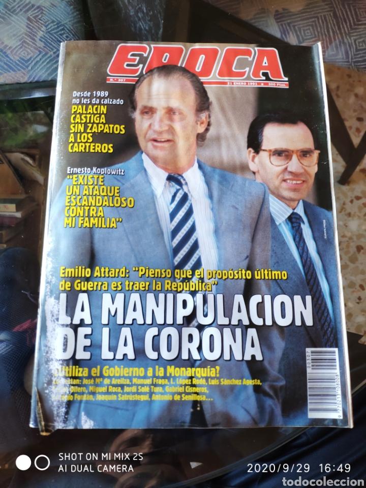 REVISTA EPOCA N° 307 (21 ENERO 1991) (Coleccionismo - Revistas y Periódicos Modernos (a partir de 1.940) - Revista Época)