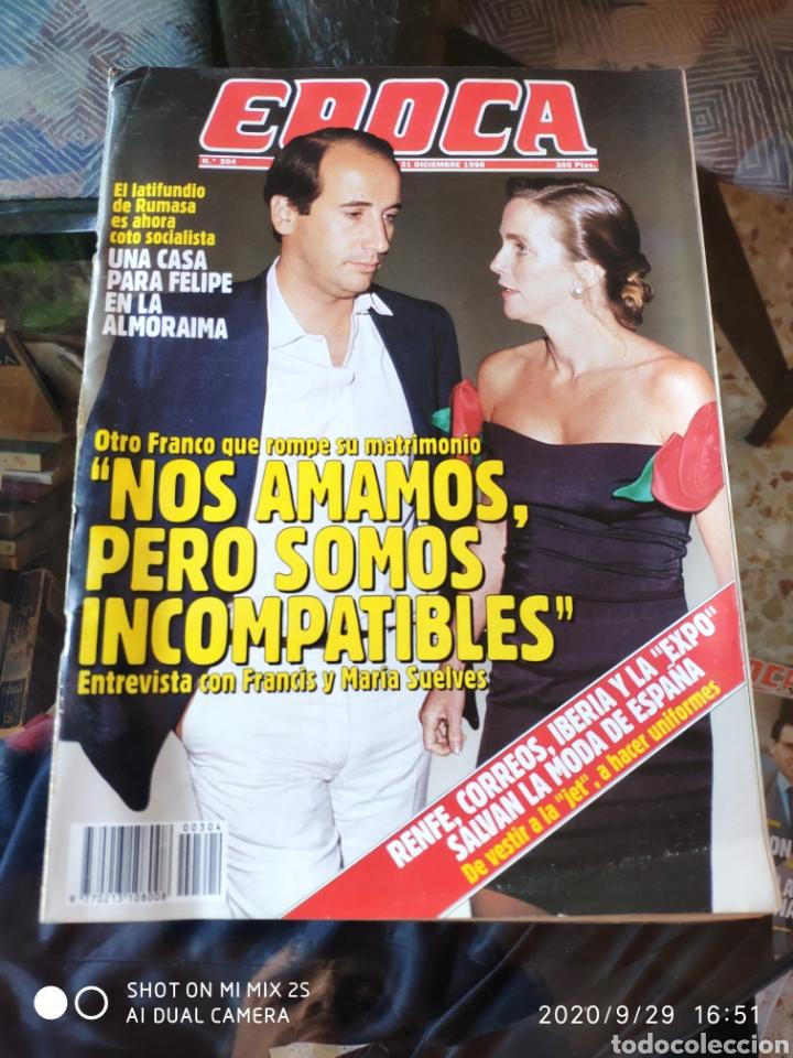 REVISTA EPOCA N° 304 (31 DICIEMBRE 1990) (Coleccionismo - Revistas y Periódicos Modernos (a partir de 1.940) - Revista Época)