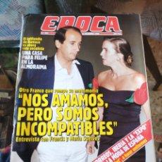 Coleccionismo de Revista Época: REVISTA EPOCA N° 304 (31 DICIEMBRE 1990). Lote 219192618