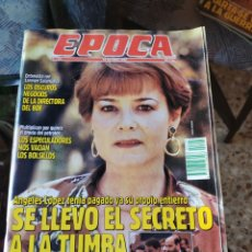 Coleccionismo de Revista Época: REVISTA EPOCA N° 295 (29 OCTUBRE 1990). Lote 219192982