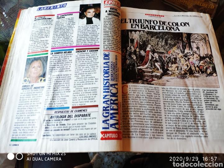 Coleccionismo de Revista Época: REVISTA EPOCA N° 289 (17 SEPTIEMBRE 1990) - Foto 3 - 219193178