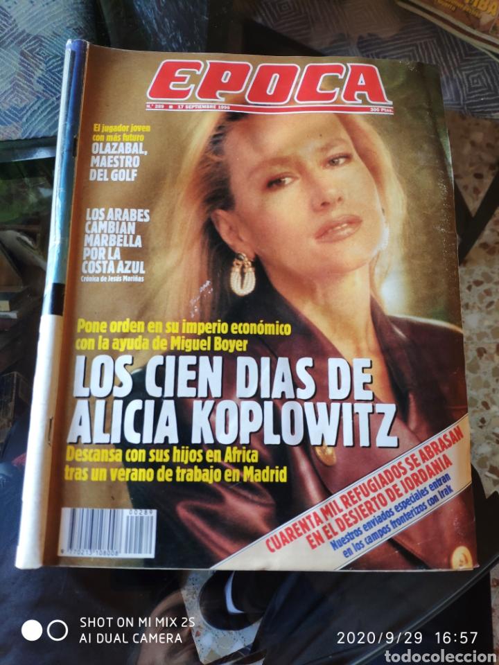 REVISTA EPOCA N° 289 (17 SEPTIEMBRE 1990) (Coleccionismo - Revistas y Periódicos Modernos (a partir de 1.940) - Revista Época)