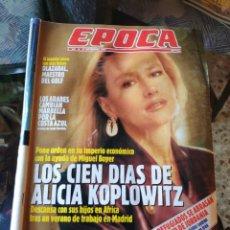 Coleccionismo de Revista Época: REVISTA EPOCA N° 289 (17 SEPTIEMBRE 1990). Lote 219193178