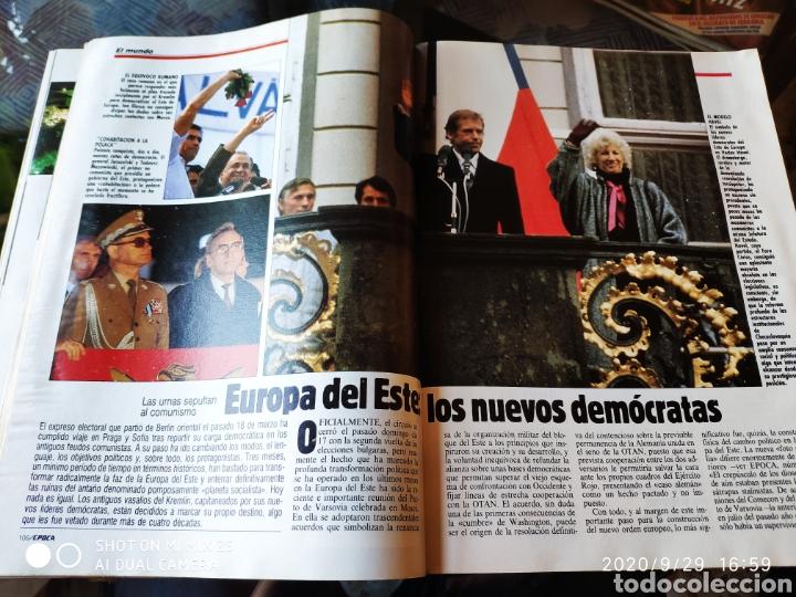 Coleccionismo de Revista Época: REVISTA EPOCA N° 277 (25 JUNIO 1990) - Foto 3 - 219193330