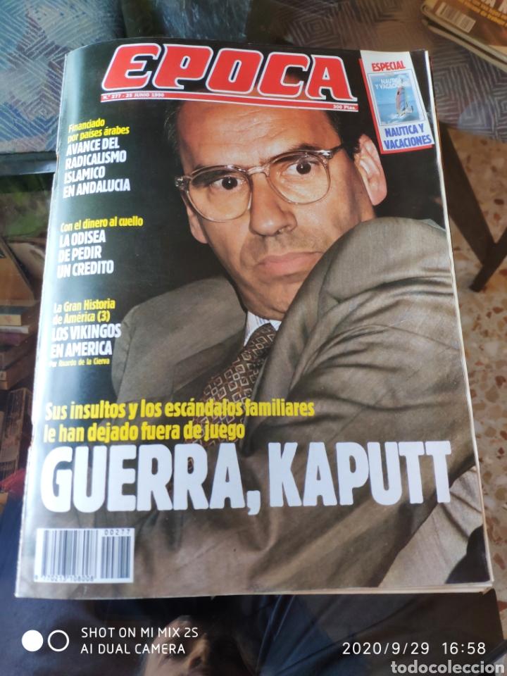 REVISTA EPOCA N° 277 (25 JUNIO 1990) (Coleccionismo - Revistas y Periódicos Modernos (a partir de 1.940) - Revista Época)